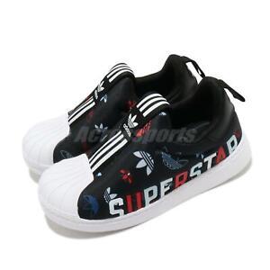adidas Originals Superstar 360 X I Black White Trefoil TD Toddler Infant FW0710