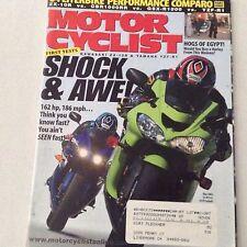 Motor Cyclist Magazine Kawasaki ZX-10R Yamaha YZF May 2004 061417nonrh2