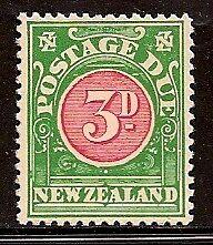 NEW ZEALAND 1904-28 NUMERAL SC # J19 MVLH