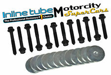 INLINE TUBE A- BODY MOUNT/CUSHION/ HARDWARE BOLT BOLTS KIT SET 64-67 24 pc NOSR