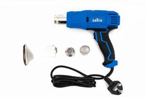 2000W Heat Gun 4pc Nozzles Professional Hot Air Paint Varnish Stripper - UK Plug
