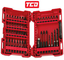 Milwaukee 4932430906 48 Pièce Shockwave Perceuse Set & Tournevis Set