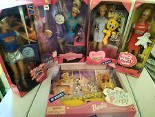 Barbie Dolls Collectible Mattel In Original Box Assorted Barbies