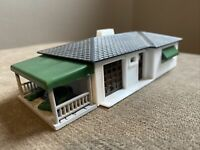 Vintage Plasticville Ranch House HO RH-1 Unassembled Model Train Railroad RR