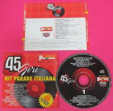 CD HIT PARADE ITALIANA 45 GIRI 1 LUCIO BATTISTI DALLA ADRIANO CELENTANO(C9***)