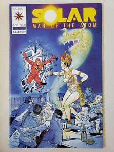 SOLAR MAN OF THE ATOM #8 (1992) VALIANT COMICS BARRY WINSOR SMITH! JIM SHOOTER