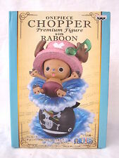 "Banpresto One Piece "" Chopper with Raboon"" Premium Pvc Figure !!!New in box!!!"