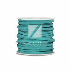 30m Round Thread Cord Strings Faux Suede Bracelet Jewellery 3x1.5mm