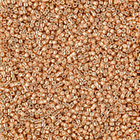 Miyuki Delica Seed Beads Size 8//0 Transparent Red Orange DBL-0704 6.8g J102//4