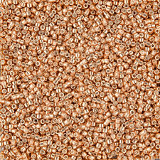Miyuki Delica seed beads 1.6 mm (Taille 11/0) GALVANISÉS MUSCAT DB434 7.2 g tube