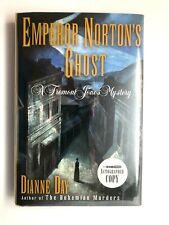 Emperor Norton's Ghost: Fremont Jones Mystery 1st pr 1998 SIGNED Dianne Day HCDJ