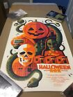 Halloween III poster by Tom Whalen.  #d 104/135.  AMAZING CONDITION!