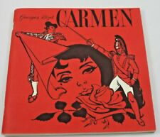 Georges Bizet Carmen Opera 1951 RCA Fritz Reiner Play Book Sheilah Beckett