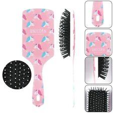 Mädchen antistatisch Einhorn/Flamingo Paddle Haarbürste