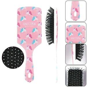 Girls Anti-static Unicorn / Flamingo Paddle Hair Brush