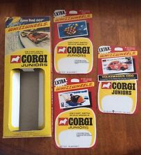 CORGI JUNIORS JAMES BOND 007 SET No 3004 BOX CARDS WHIZZWHEELS VW  GREAT BRITAIN