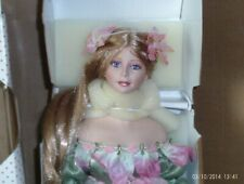 18 in. porcelain /cloth Paradise Galleries-Summer Breeze Fairy doll