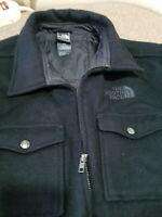north face wool jacket
