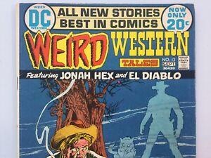 DC 1972 Weird Western Tales 13 VG 4th App Jonah Hex Neal Adams Josh Brolin DCCU