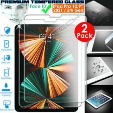More details for 2x genuine tempered glass screen protector for apple ipad pro 12.9