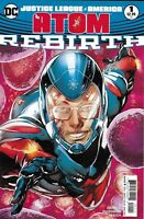 Justice League Of America Atom Comic 1 Cover A Rebirth First Print 2017 DC