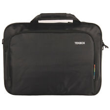 "TEKBOX LAPTOP CARRY CASE SHOULDER BAG NETBOOK NOTEBOOK 14"" 15"" 15.9"" - BLACK"