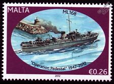 HMS ML168 Fairmile B Motor Launch Warship WWII Malta Convoys Stamp