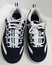 SKECHERS SHAPE UP Shoes SNEAKERS Sz 9.5 BLACK WHITE Suede WALK Exercise # 11809