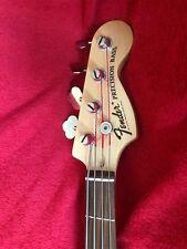2000 Fender Squier Precision Bass Guitar Modified Excellent Condition