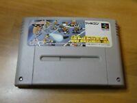 GAME/JEU SUPER FAMICOM NINTENDO NES JAPANESE SNES Battle Dodgeball SHVC-BD TBE
