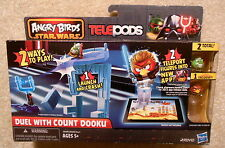 Angry Birds Star Wars - Telepods - Duel with Count Dooku - Mint in Box / Unused