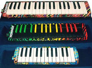 Mélodica HOHNER AIRBOARD / Rasta / Junior touches piano 25, 32 ou 37 notes.