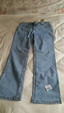 Ladies Brand New with Tags Light Blue Bootcut Jeans Size 14 John Baner Jeanswear