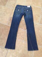 True Religion Women's Joey Low Rise Boot Cut Jeans With Flap Pockets Sz 24