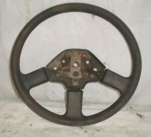 1982 Delorean DMC 12 OEM Steering Wheel