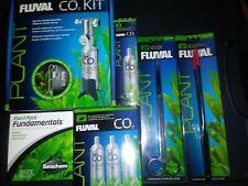 FLUVAL AQUARIUM PLANT 95g PRESSURIZED CO2 KIT 55 GAL+ DELUXE MASTER CUSTOM KIT