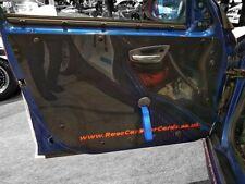 2x SEAT LEON CUPRA MK1 * Carbon Effect ABS FRONT Door Card Panels * Track Car
