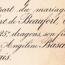 Charles Victor Hubert Scourion De Beaufort Tours 1883