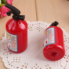 4PCS Kids Fire Extinguisher Shape Pencil Sharpener Cutting Tool School Supplies