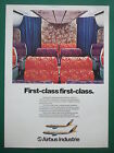 5/1980 PUB AIRBUS INDUSTRIE AIRBUS A300 A310 AIRLINER WIDE CABIN FIRST CLASS AD