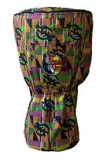 Djembe Bag, Freedom Drums Brand, Padded Kente Design 20x12 Drum Case