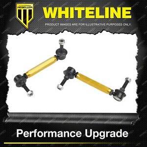 Whiteline Front Adjustable Sway Bar Link for Isuzu Bighorn D Max MU MU-X Trooper