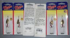 MEPPS AGLIA taille 3 Perche Brochet Truite 4er Set détraqué Vibrax Fox Tail taille 3