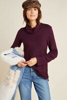 New Anthropologie RACHAEL Saturday/Sunday Cowl Neck Sweater Pullover Size XS