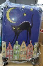 TROLLEY Black Cat Cabin Suitcase Medium