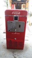 Coca-Cola Coke Machine Vendo VMC 33 Unrestored Cheap 81 56 39 rc 7up dr. pepper