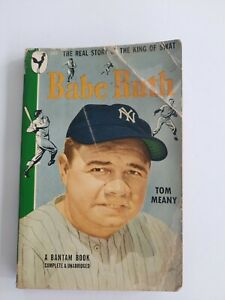 Babe Ruth Book The Real Story King of Swat Tom Meany Paperback NY Yankees MLB