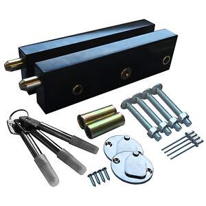 Enfield Schlosser Garage Door Bolt Locks Extra Security One Pair Same Key