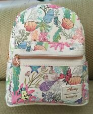 NWT LOUNGEFLY DISNEY LITTLE MERMAID UNDER THE SEA BACKPACK PURSE  SOLD OUT HTF