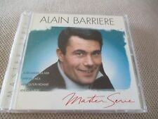 "CD ""ALAIN BARRIERE - MASTER SERIE"" best of"